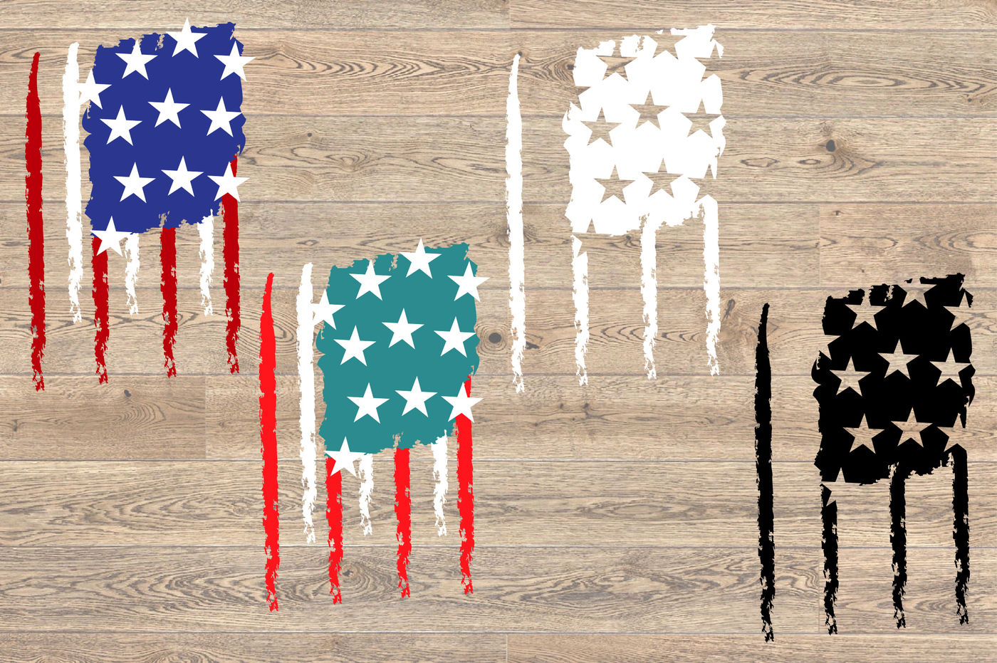 View Black Distressed American Flag Svg Free Background