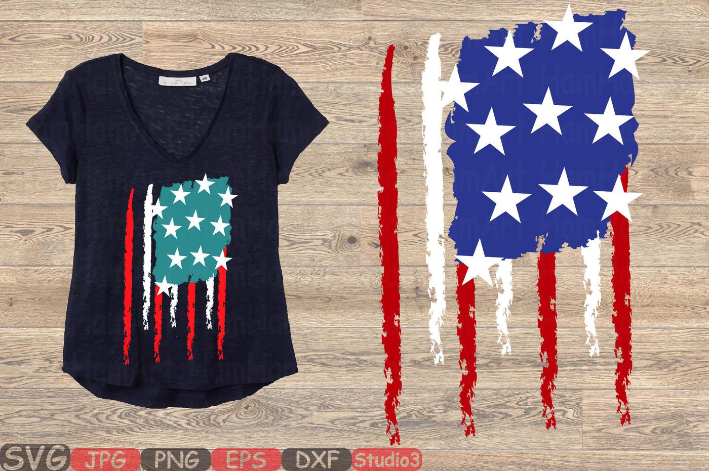 American Flag Svg Distressed American Flag Svg Usa Flag Svg 107sv