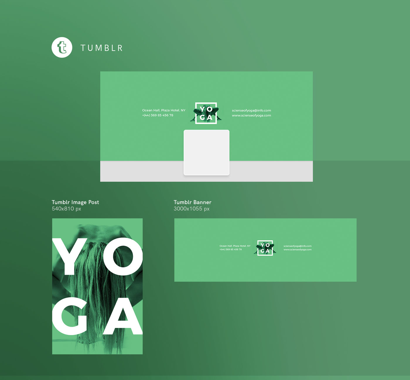 Design templates bundle | flyer, banner, branding | Yoga