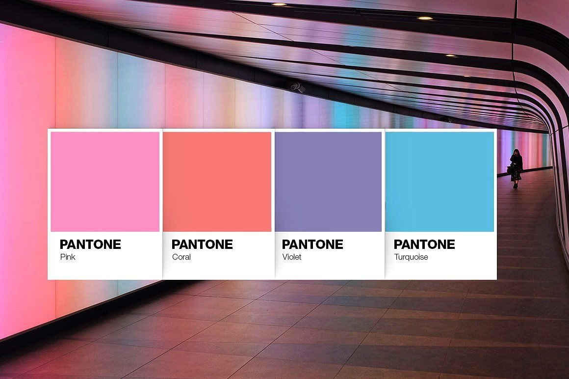 Color Palette Mockup Free