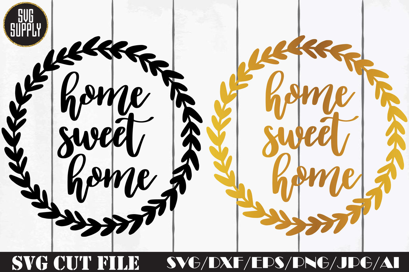 Home Sweet Home Svg Cut File By Svgsupply Thehungryjpeg Com