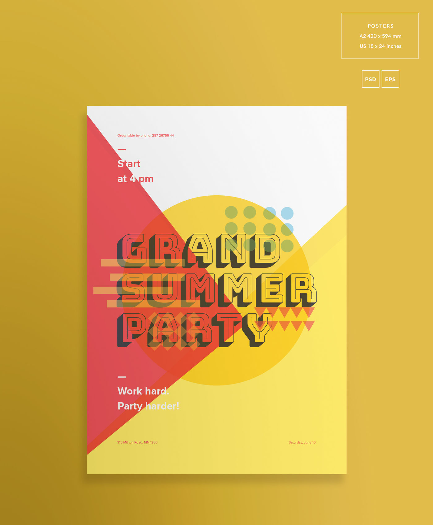 Download A5 Flyer Mockup Psd Free Download Yellowimages