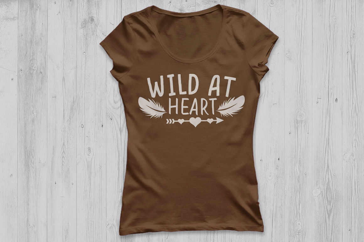 Wild At Heart Svg Aztec Boho Svg Arrow Svg Baby Svg Girls Svg