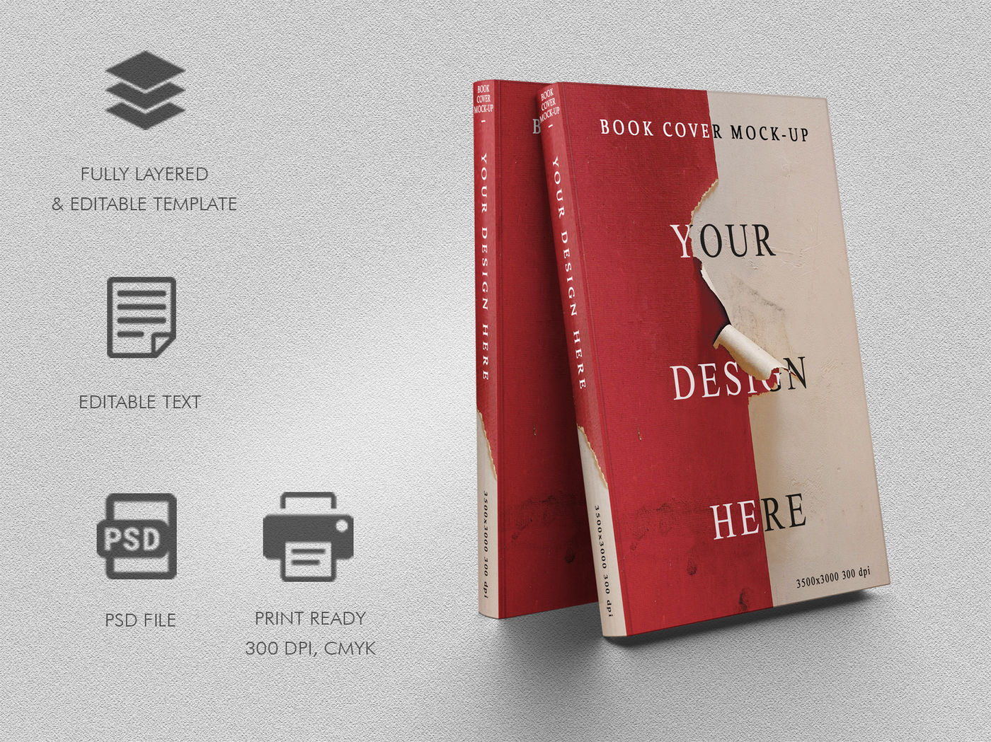 Download Book Mockup Template Psd Yellowimages