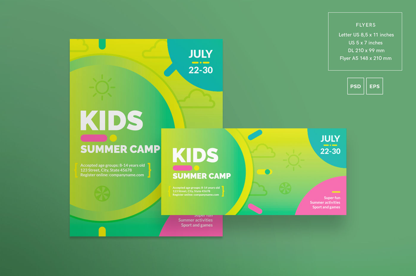 A5 Booklet Mockup Free Psd