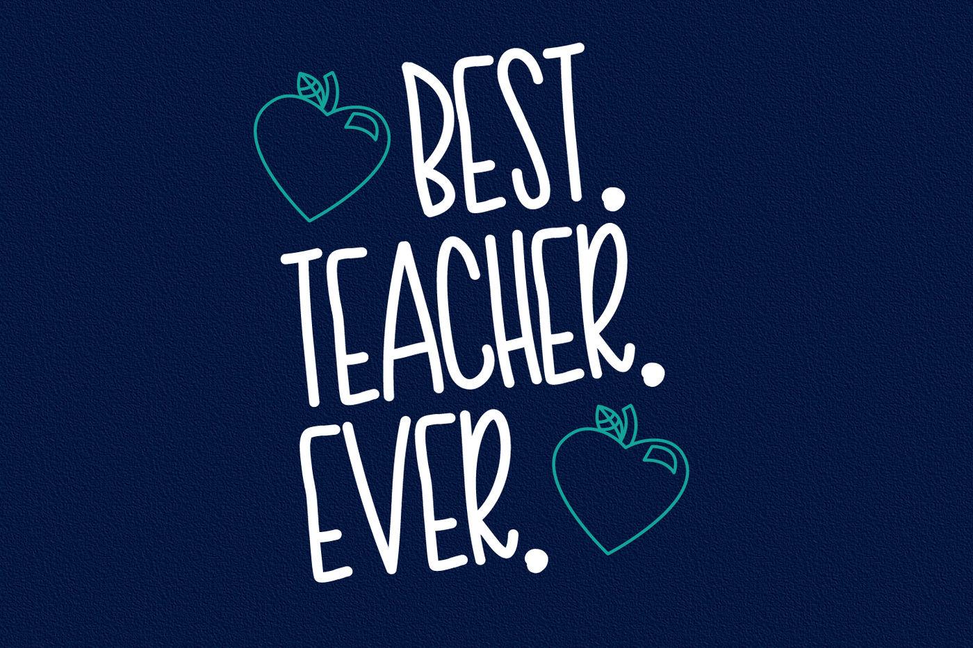Teacher Doodles - Dingbat Font By CraftyLittleNodes