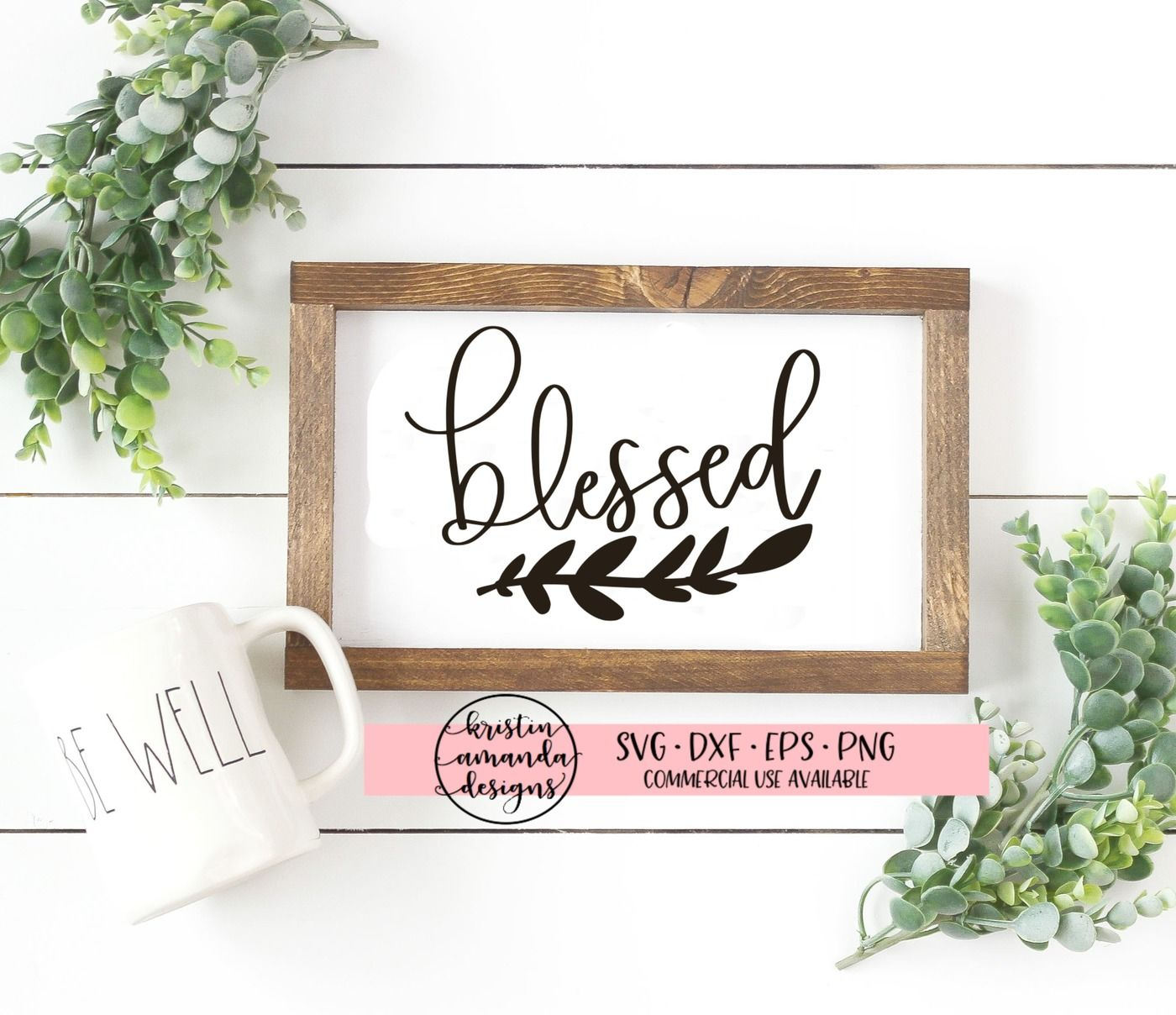 Blessed Fall Svg Dxf Eps Png Cut File Cricut Silhouette By