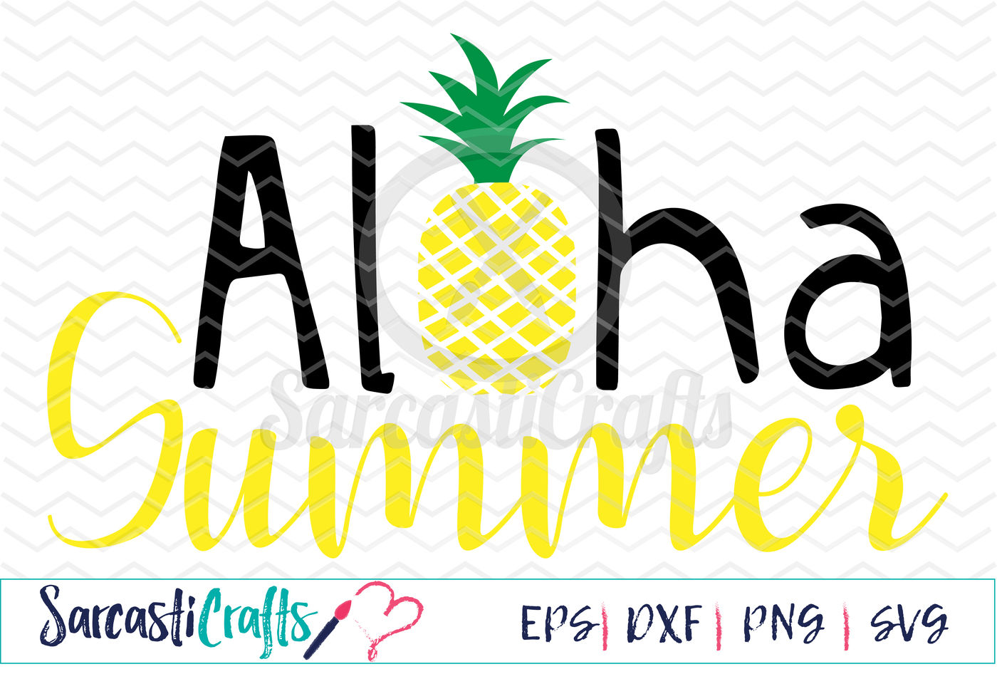 Aloha Summer Svg Png Eps Dxf By Sarcasticrafts Thehungryjpeg Com