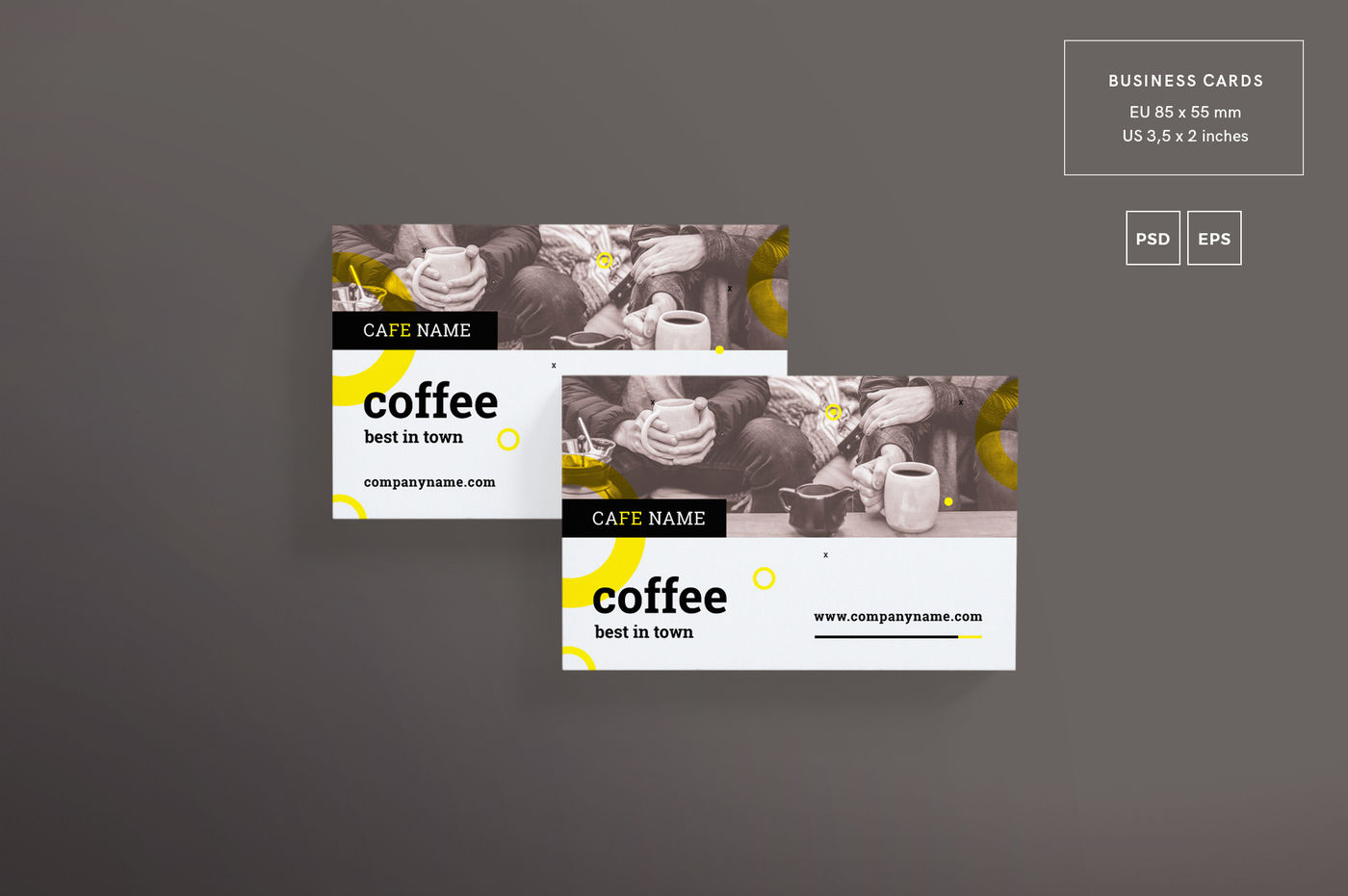 Download 11 Professional Business Card Psd Mockups Templates Yellowimages