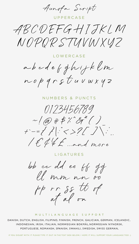 Double Aunofa Couple Fonts By Konstantine Studio Thehungryjpeg Com