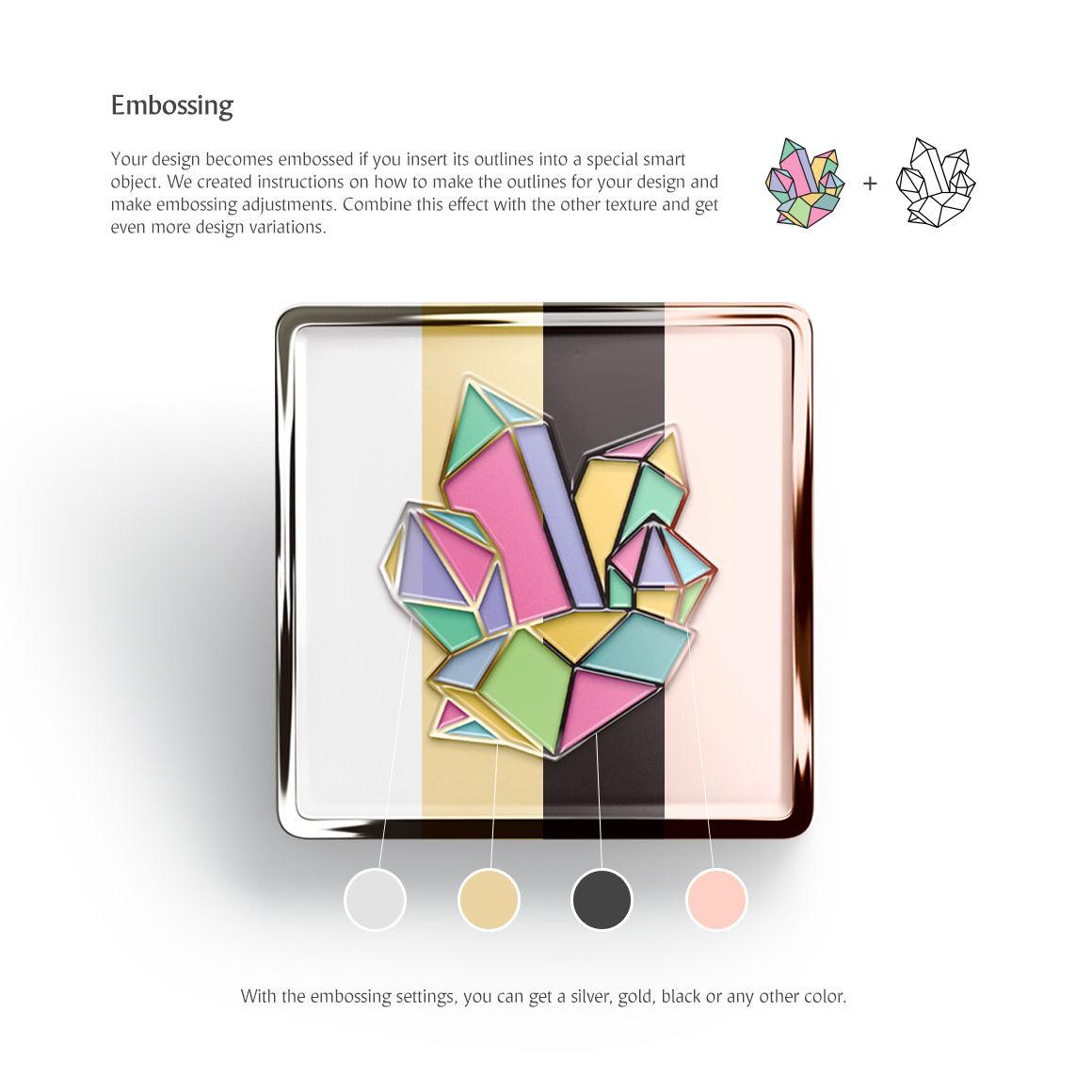 Square Enamel Pin Mockups Set By rebrandy | TheHungryJPEG com