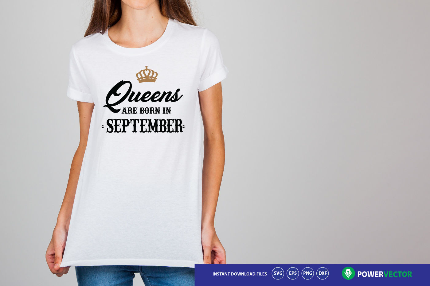 Queen Birthday Svg Dxf Eps Png Files Queens Are Born Svg By Powervector Thehungryjpeg Com