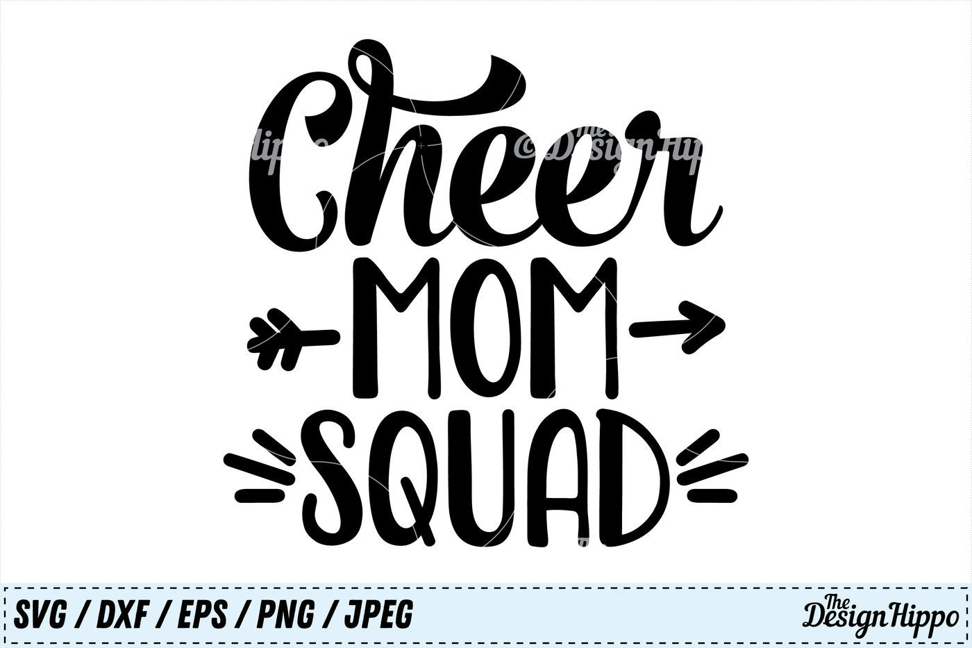 Cheer Mom Squad Svg Cheer Svg Mom Svg Squad Svg Png Dxf Cut