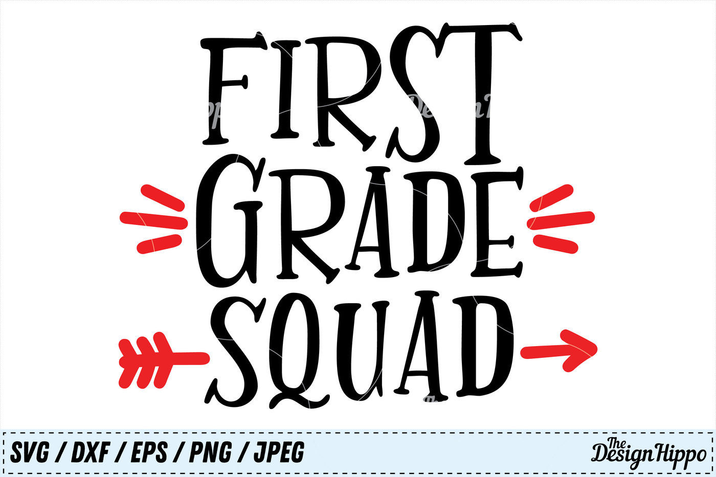 First Grade Squad 1st Grade Teacher Back To School Svg Png Cut