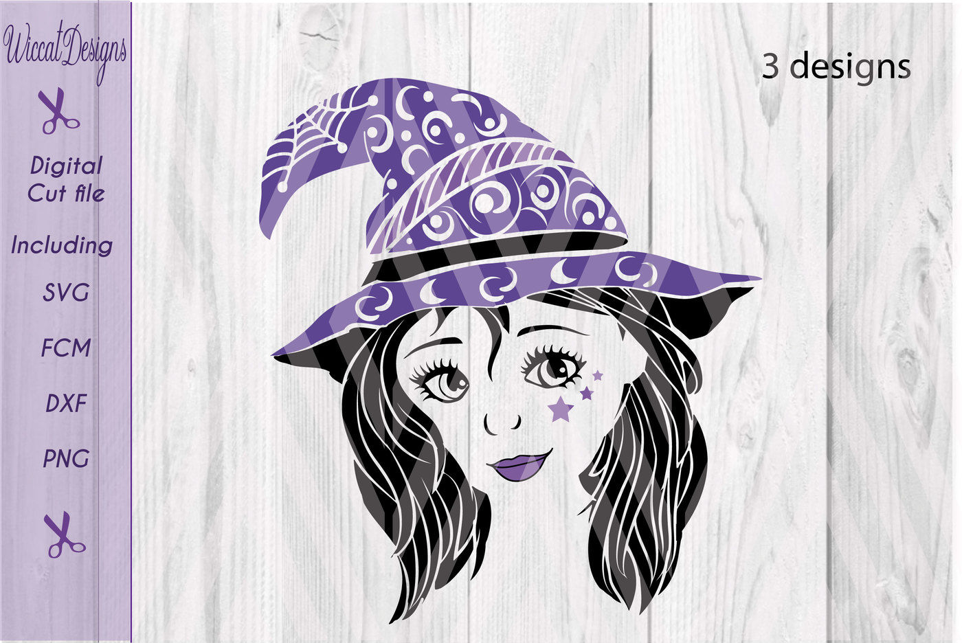Witch svg, doodle svg, Cute Witch svg, teen witch, girls svg