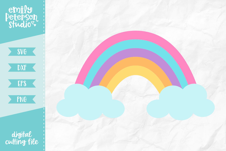 Rainbow Svg Dxf By Emily Peterson Studio Thehungryjpeg Com