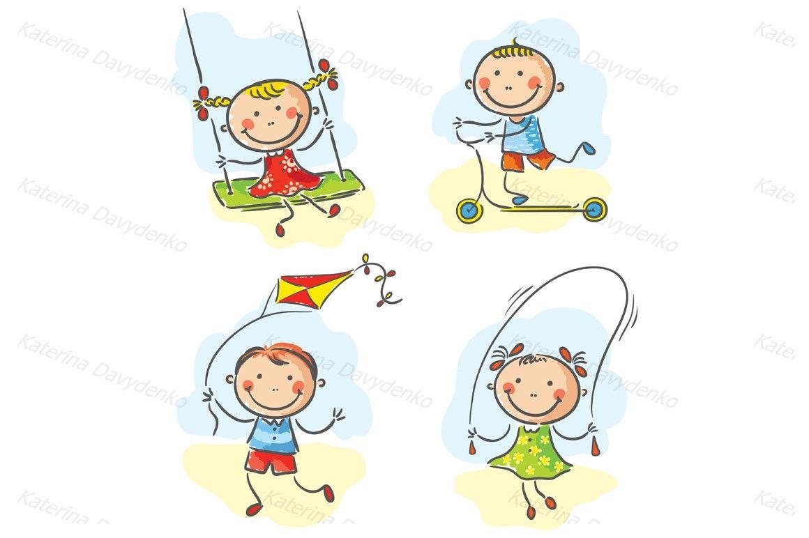Kids Outdoor Games And Activities By Optimistic Kids Art
