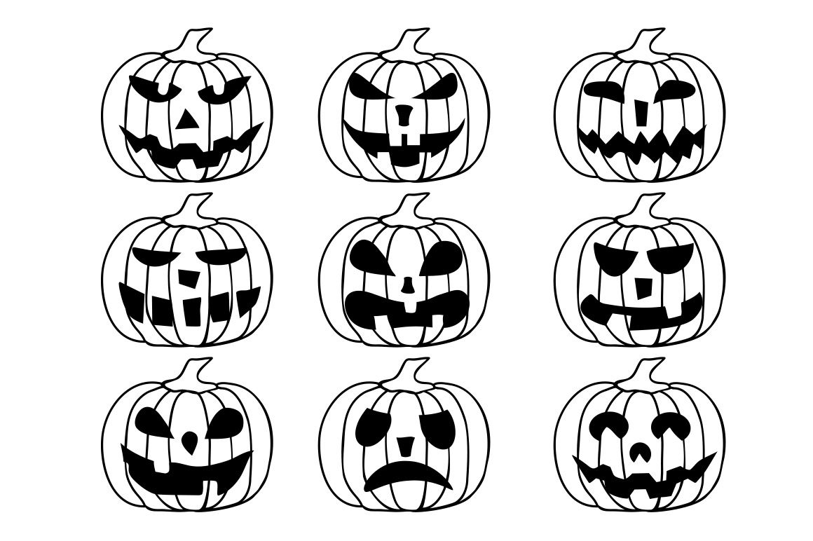 11+ Halloween Clipart, Cute Digital Illustrations Png SVG
