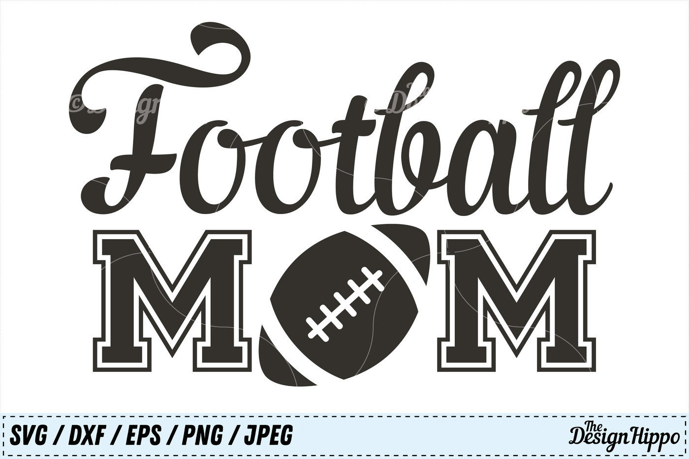 Football Svg Bundle Football Mom Bundle Mama Svg Png Dxf Cut Files By The Design Hippo Thehungryjpeg Com