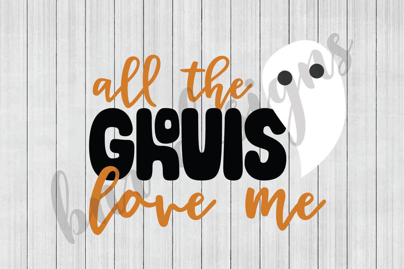 Halloween Svg Ghost Svg Svg Files Cut Files Cricut Files By