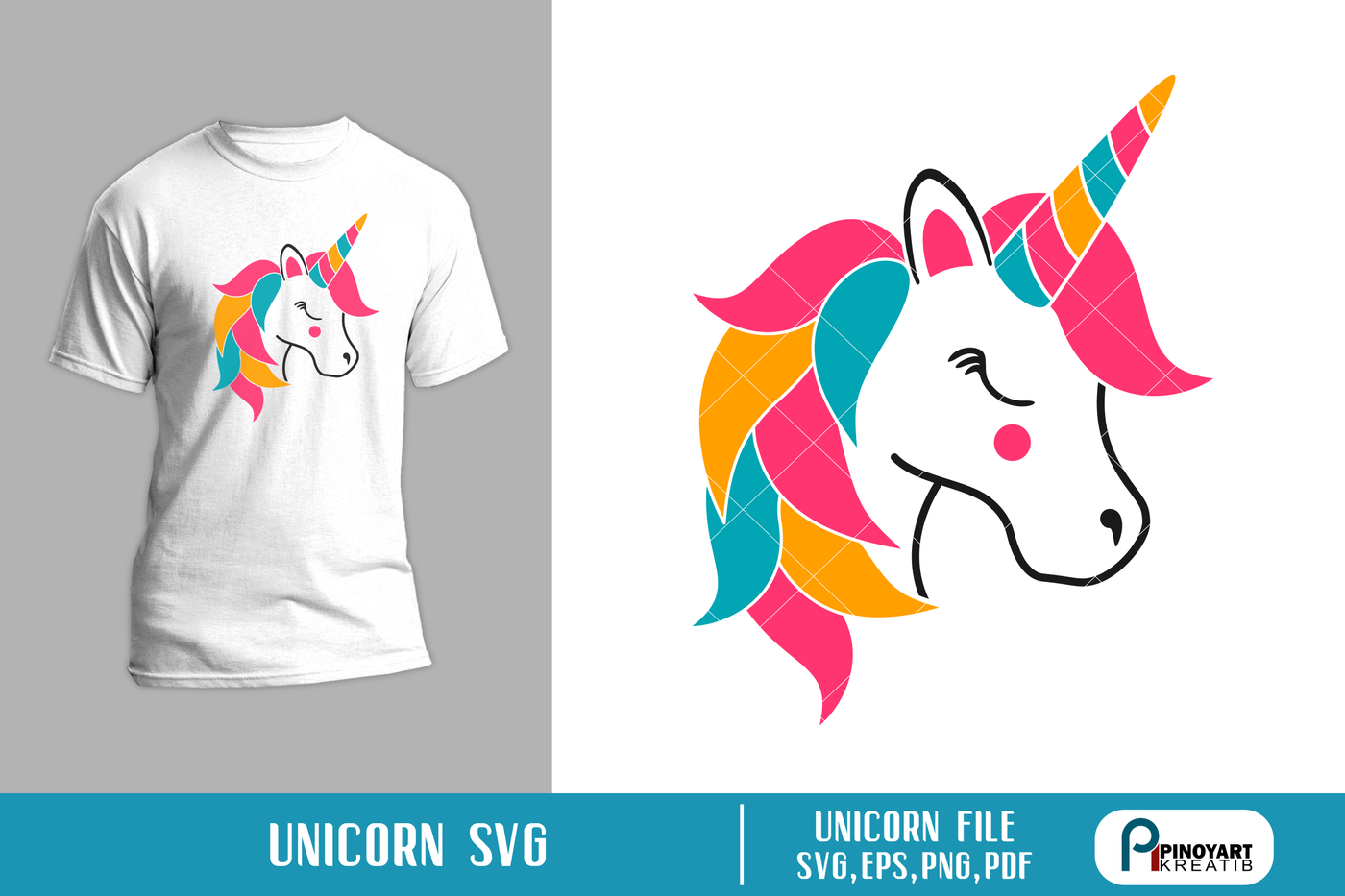 Unicorn Svg Unicorn Svg File Unicorn Clip Art Unicorn Graphics