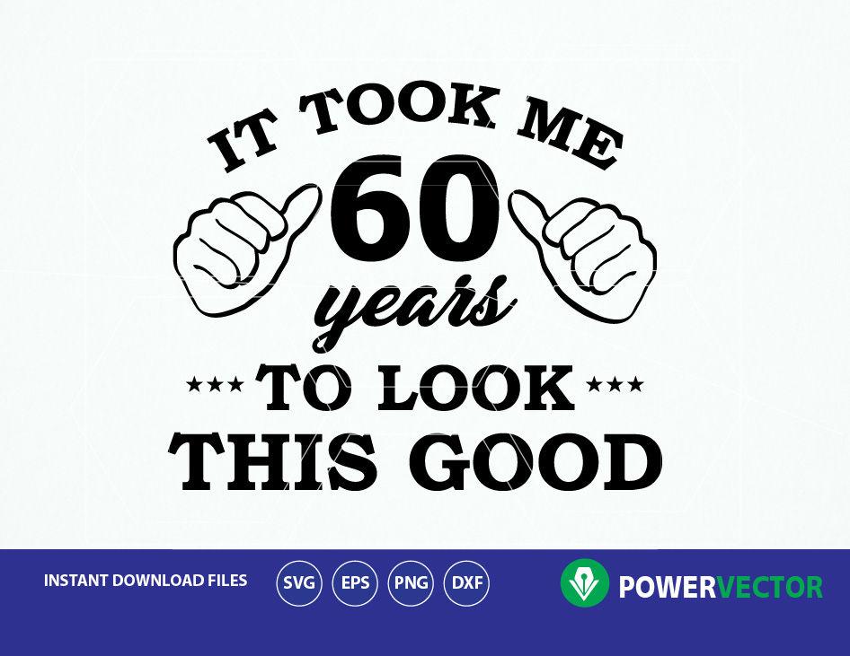 60th Birthday Vinyl T Shirt Design By Powervector Thehungryjpeg Com