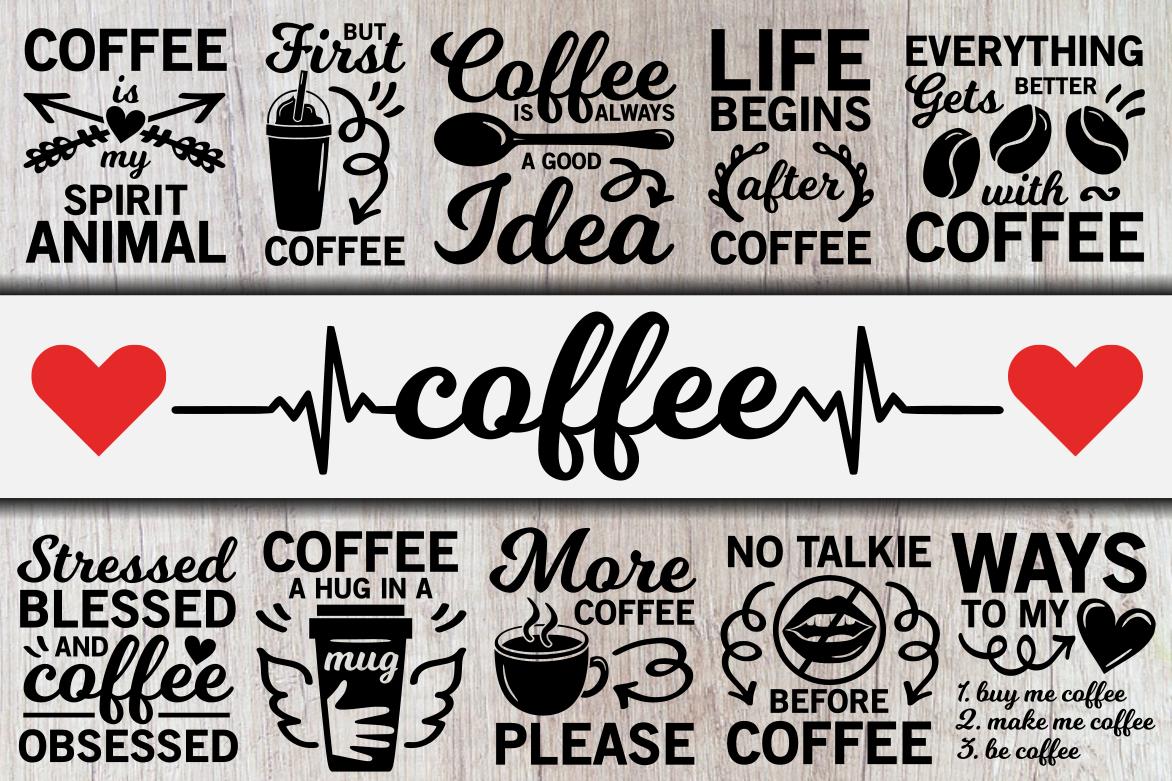 Coffee Svg Bundle By Crystalgiftsstudio Thehungryjpeg Com