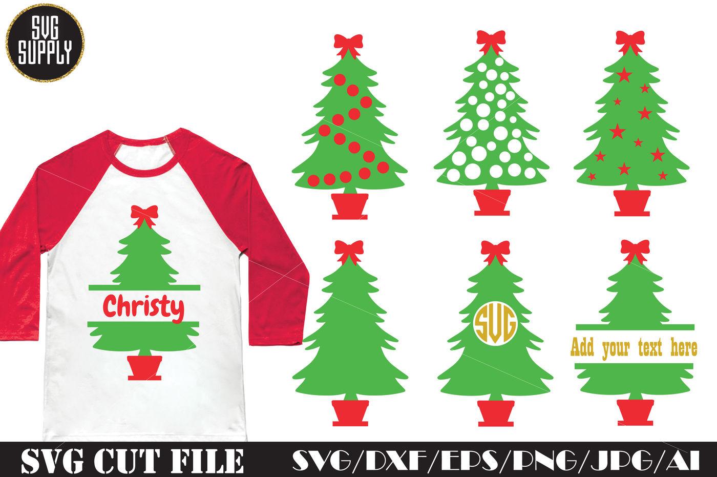 Christmas Tree Svg Cut File By Svgsupply Thehungryjpeg Com
