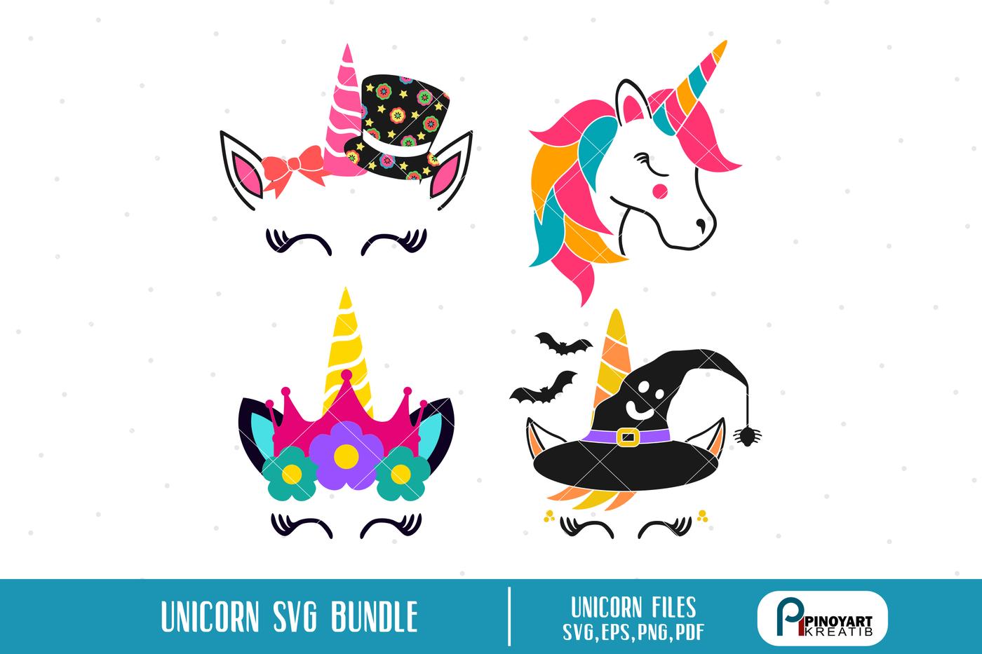 Unicorn Svg Mini Bundle Unicorn Svg Unicorn Graphics Svg By