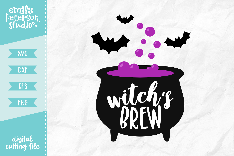 Witch S Brew Svg Dxf By Emily Peterson Studio Thehungryjpeg Com
