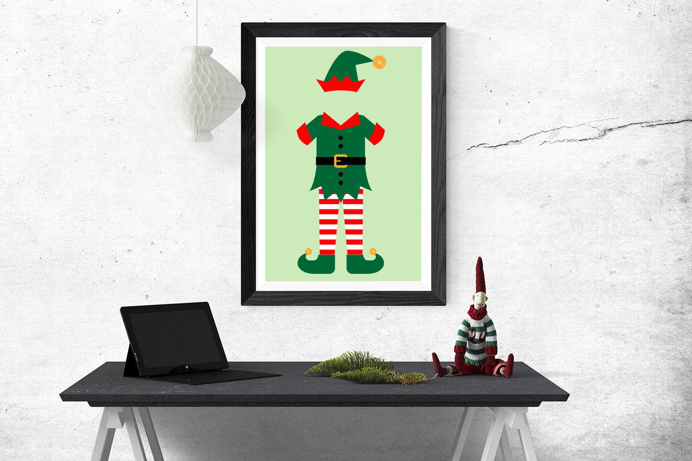 Christmas Elf Outfit Svg Png Dxf By Designed By Geeks
