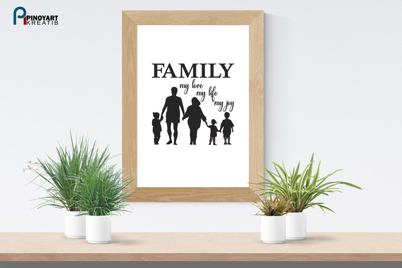 Family Svg Family Svg File Life Svg Joy Svg Love Svg Svg