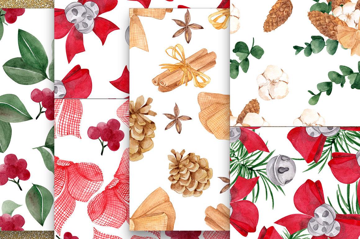Christmas Pattern By Ma I Vi Thehungryjpeg Com