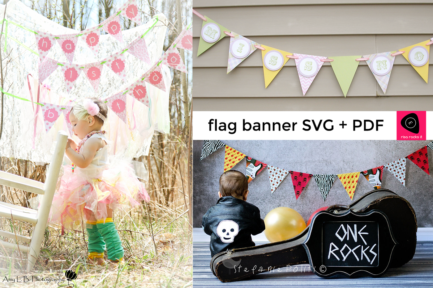 Triangle Flag Banner Svg Pdf Png Dxf By Risa Rocks It