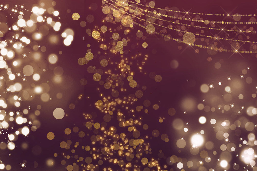 Gold Bokeh Overlays By Digital Curio | TheHungryJPEG com