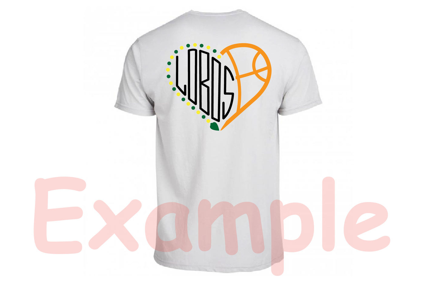 Lobos Sport Heart Svg Football Baseball Basketball Soccer 989s By
