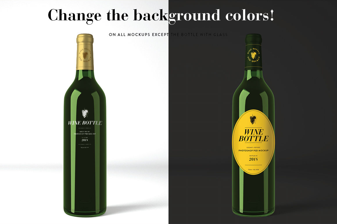 Download Dark Glass Bottle With Red Drink Mockup Yellowimages