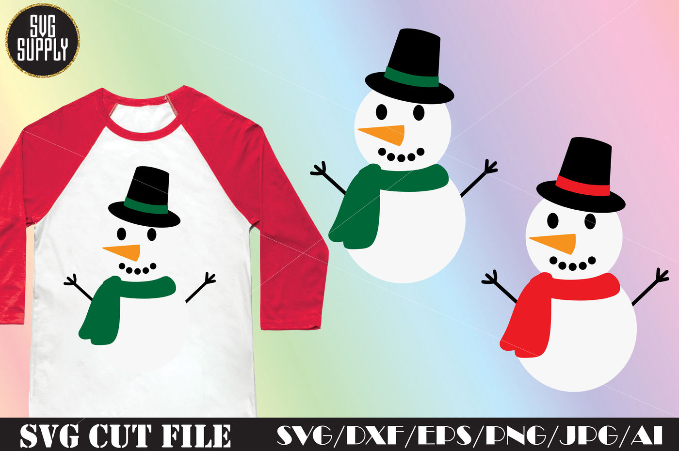 Download Download Christmas Drawings Snowman for Cricut, Silhouette ...