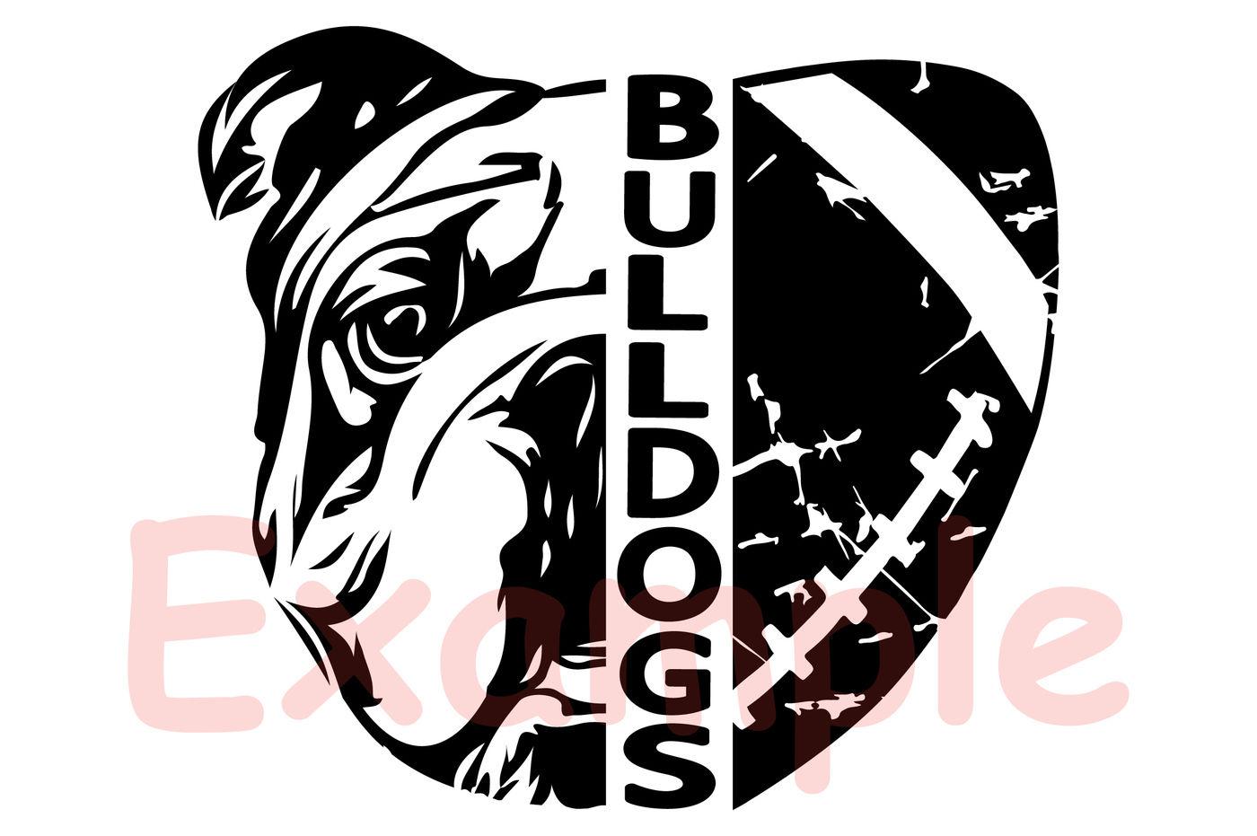 Bulldogs Svg Svg Sayings Football Svg Football Sister Football