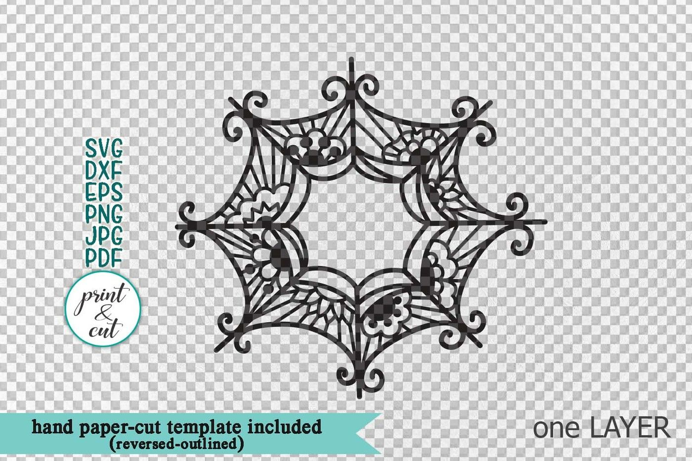 Halloween Spider Web Witch Hat Monogram Bundle Svg Dxf Pdf By