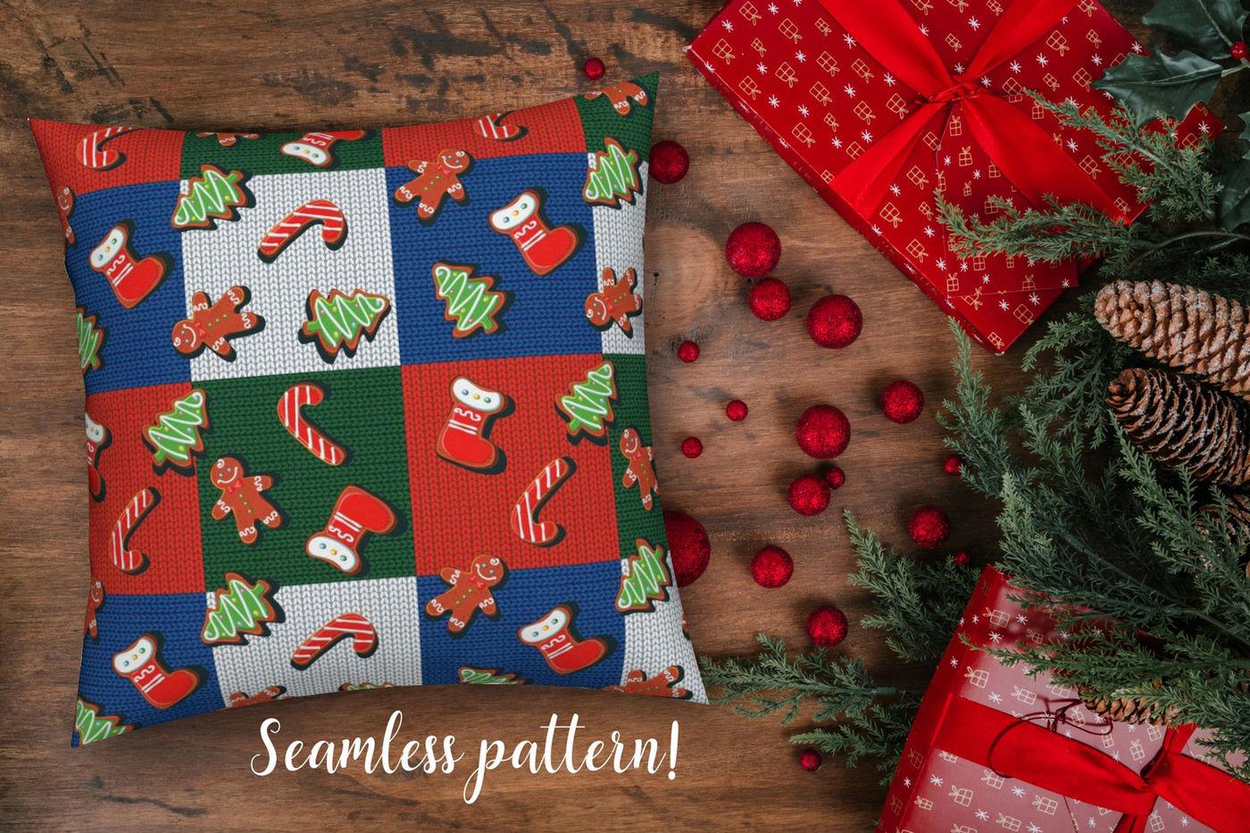 Winter Holiday Patterns Christmas Mood By Olgagriga Art