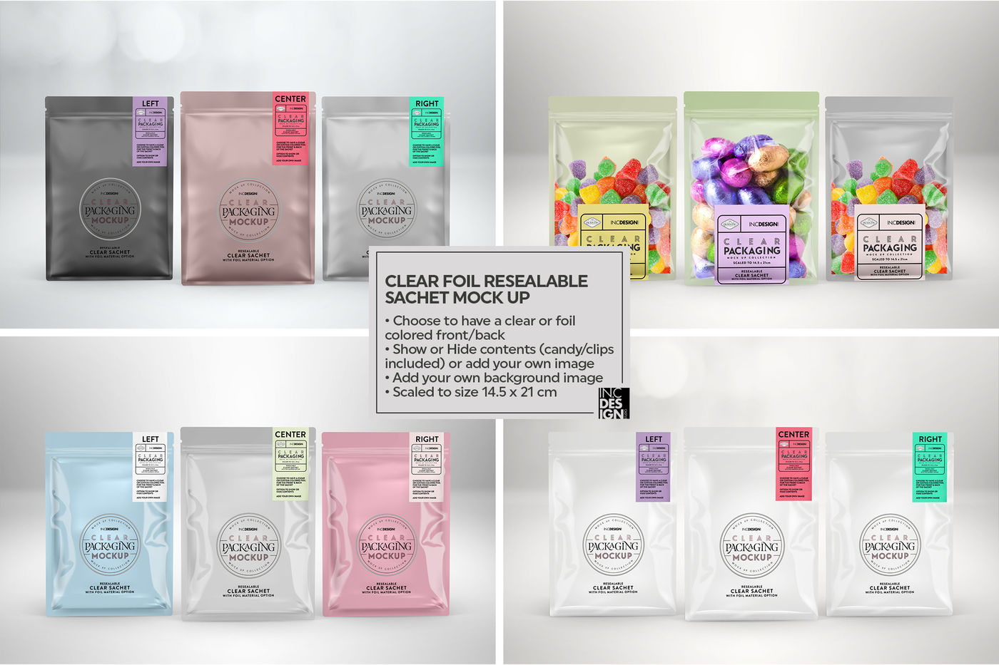 Download Paper Sachet Mockup Yellowimages