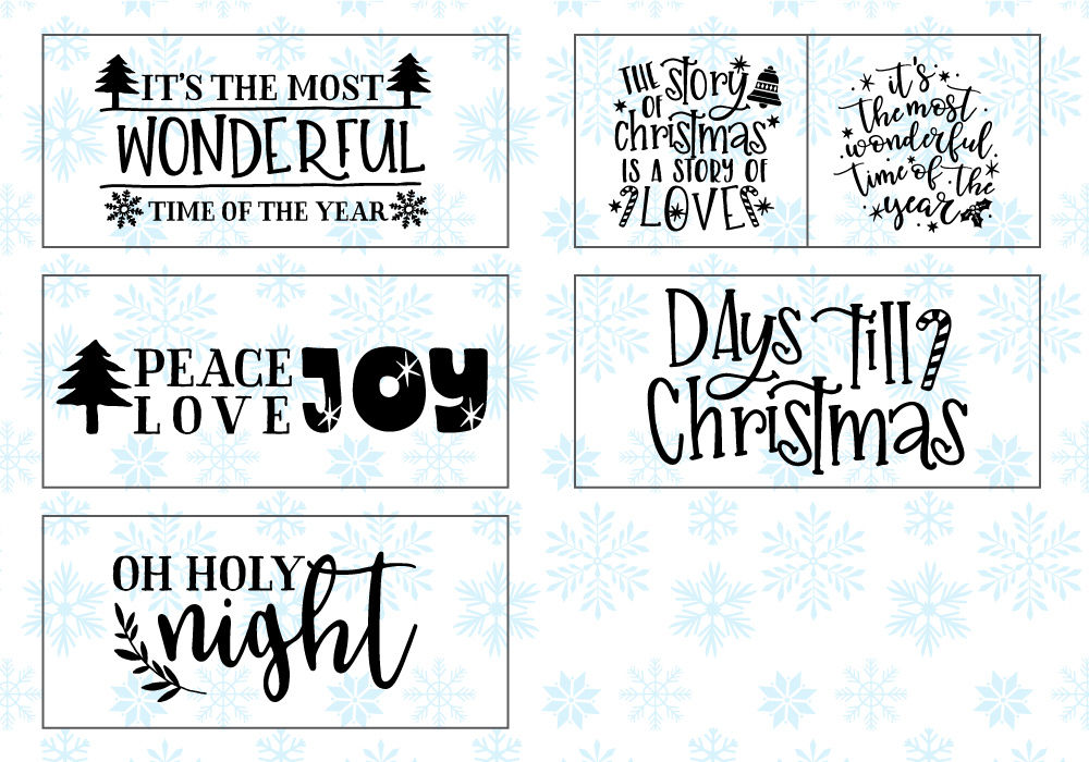 Happy Christmas Svg Cut File Bundle By Caluya Design