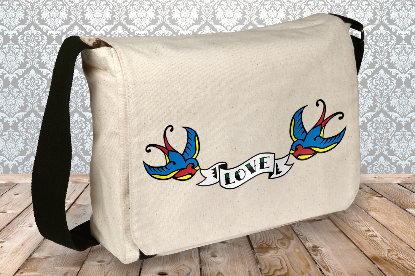 Swallow With Banner Tattoo Svg Png Dxf By Risa Rocks It