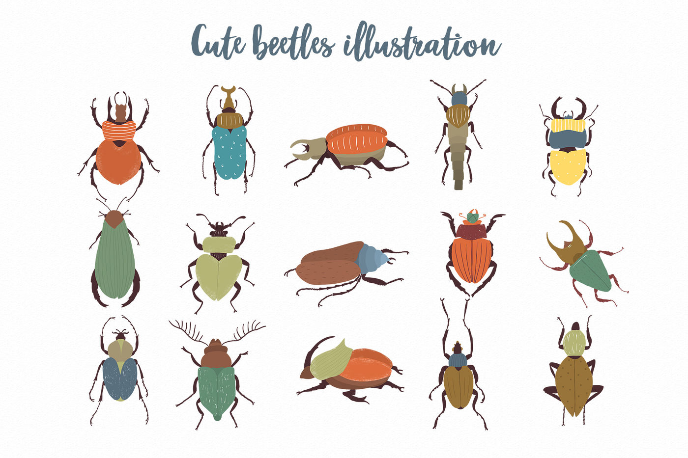 Beetles Png Clipart By Sketchcliparts Thehungryjpeg Com