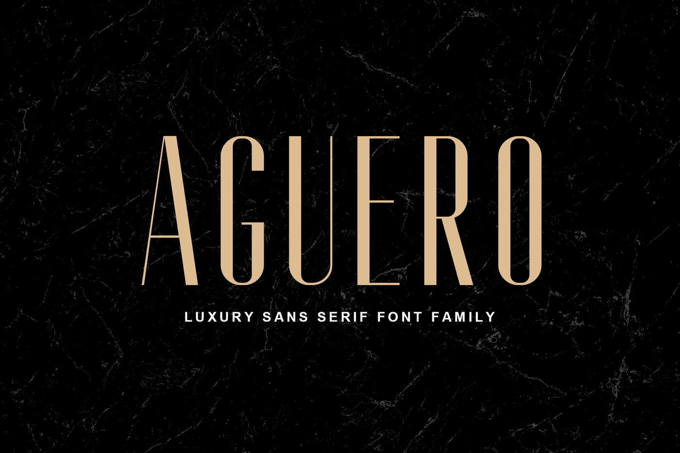 Aguero Sans Font Family By Craft Supply Co Thehungryjpeg Com