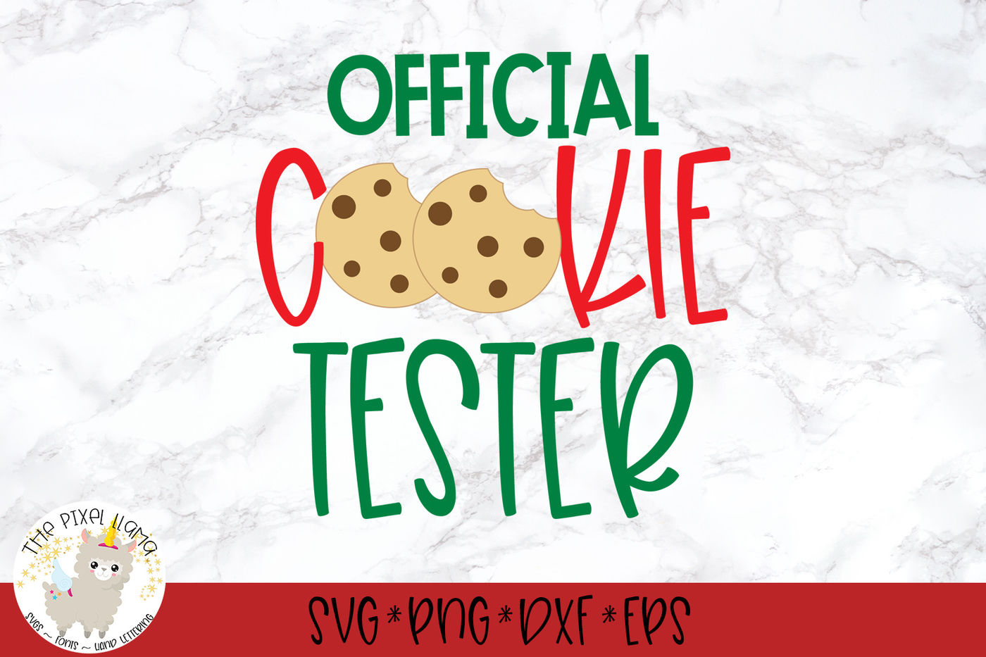 Official Cookie Tester Svg Cut File By The Pixel Llama Thehungryjpeg Com