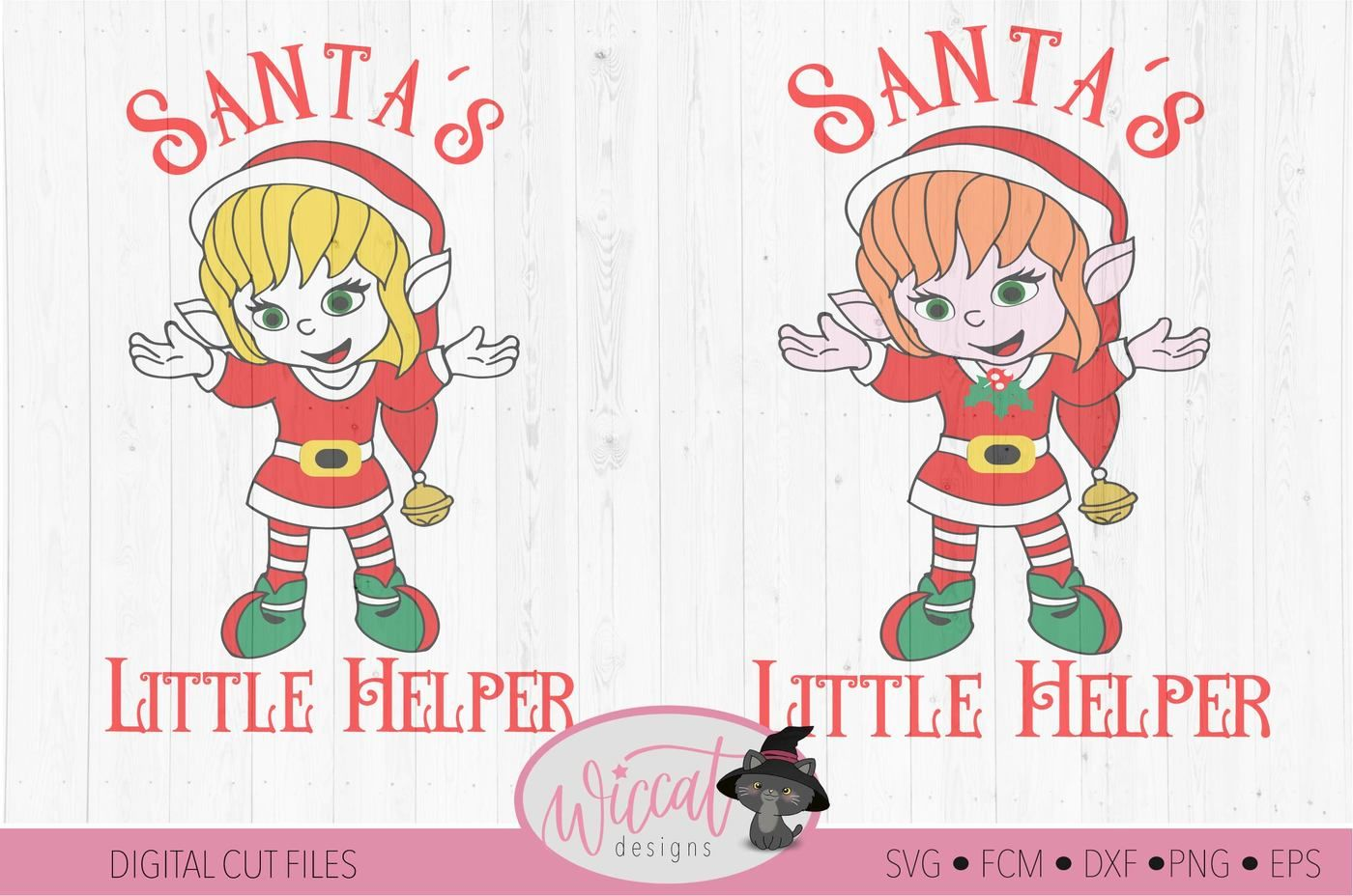 Christmas Girl Elves Svg Christmas Elf Svg Santa S Little Helper Svg By Wiccatdesigns Thehungryjpeg Com