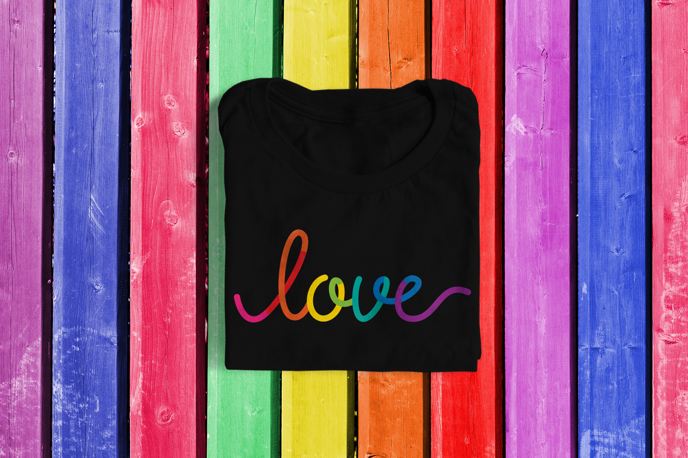 Lgbt Rainbow Love Svg Png Dxf By Designed By Geeks