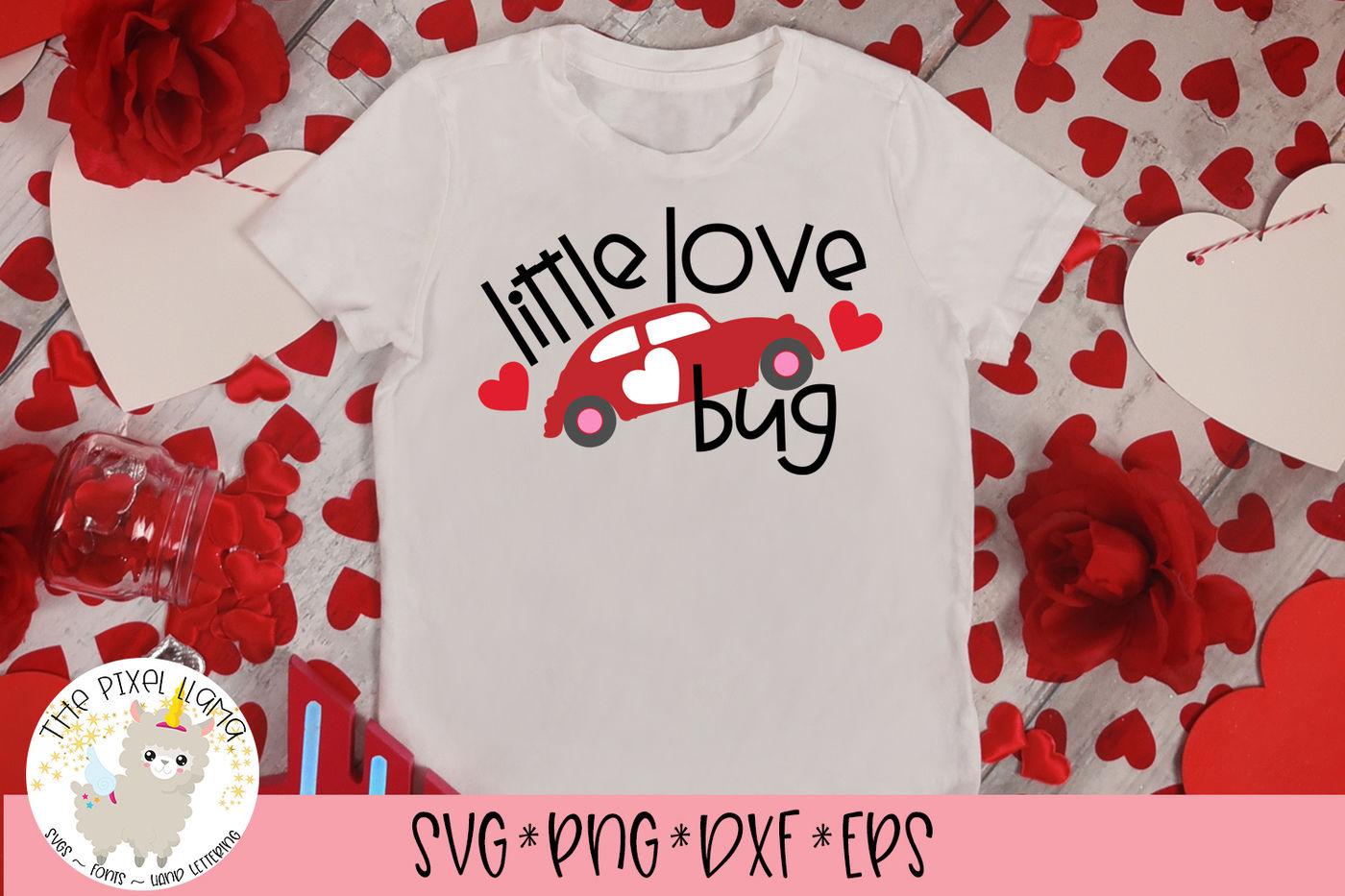 Little Love Bug Svg Cut File By The Pixel Llama Thehungryjpeg Com